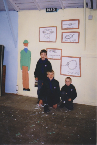 Daniel Lee, Sam Ingham, Ryan Corkill June 2001