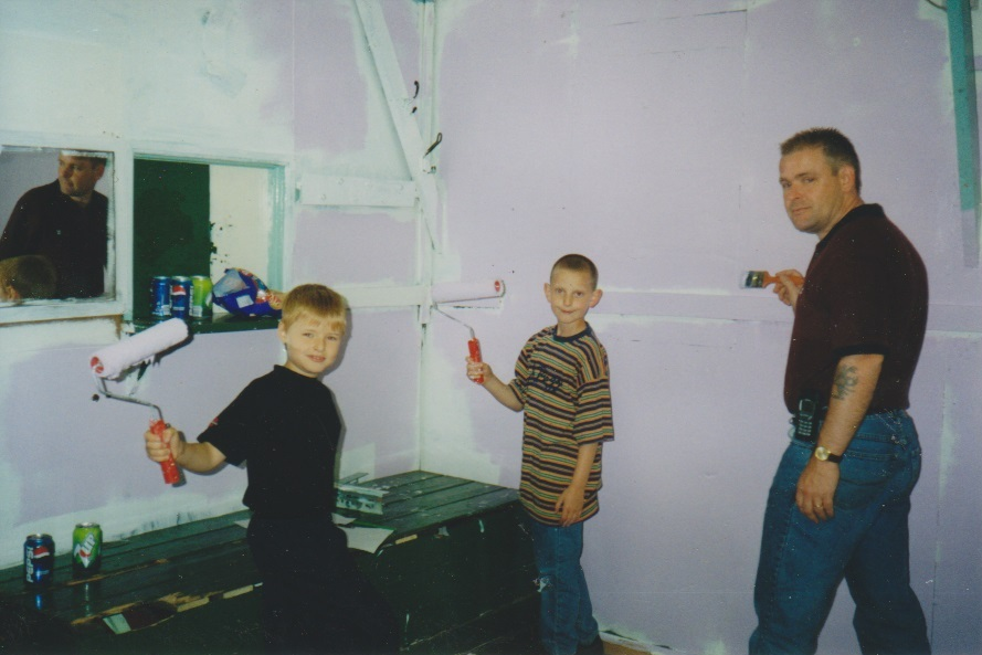 Ian Cordas, Elliott Cordas and Ryan Corkill June 2001
