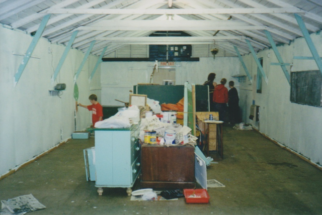 Refurbishment June 2001