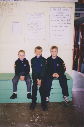 Ryan Corkill, Sam Inghan and Daniel Buttimore June 2001