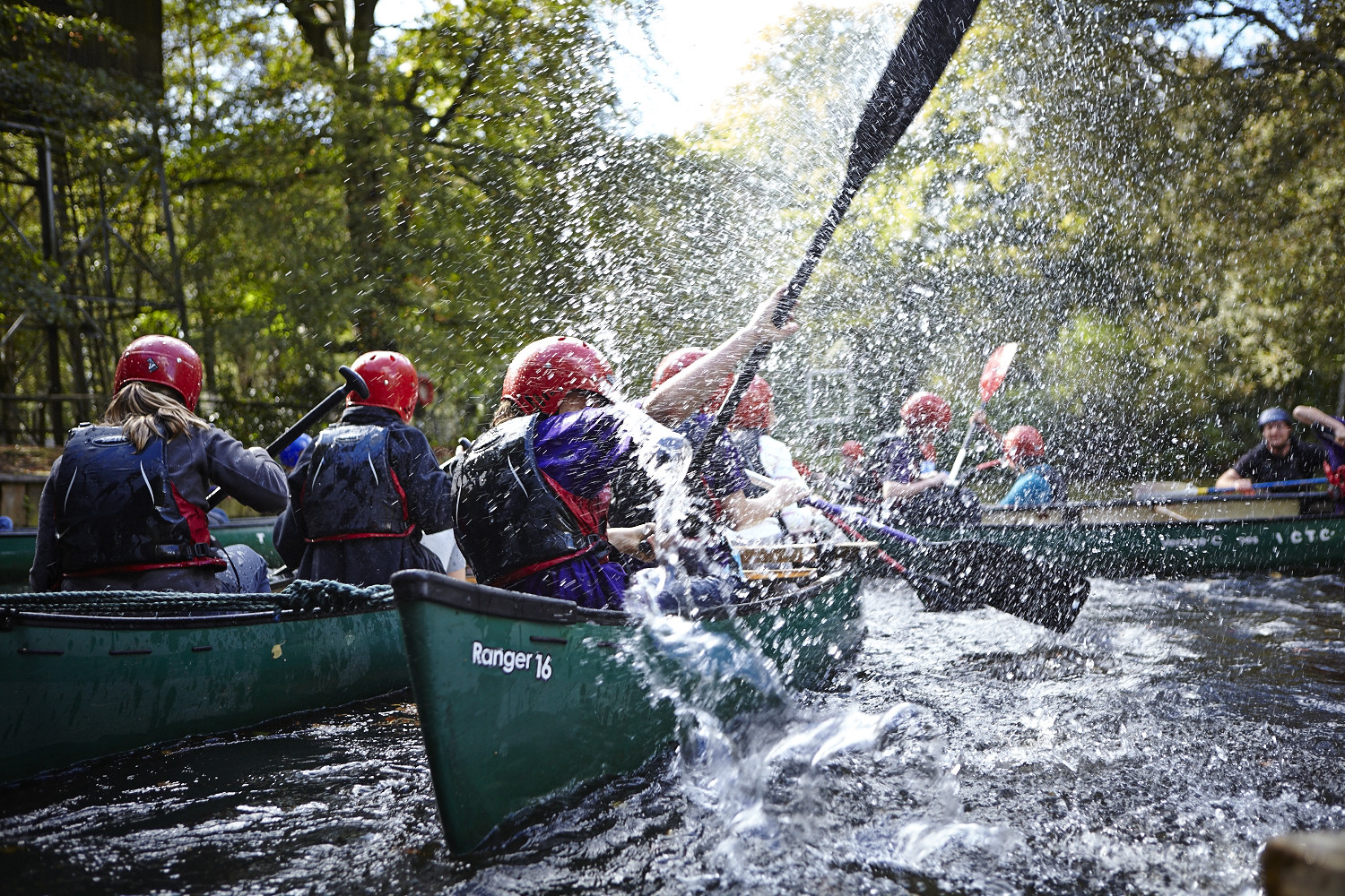 3rd Peel Scouts Canoeing