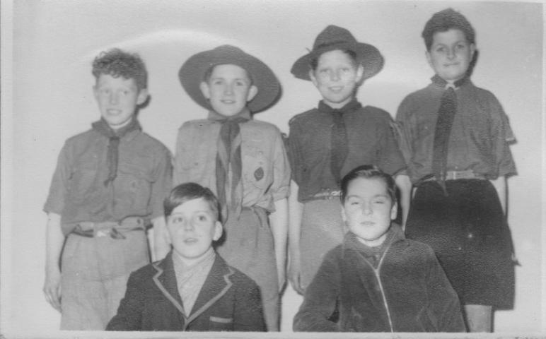 3rd Peel Scouts 1950's